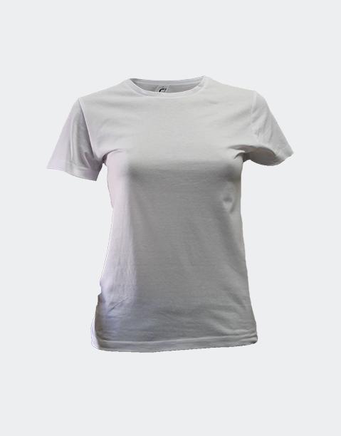 camiseta-señora-chica-manga-corta-basica-algodon-barata-sols-miss-blanco